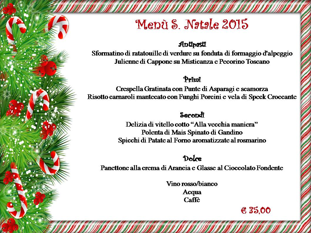 Menu Di Natale Bergamo.Pranzo Di Natale 2015 Bergamo Menu Di Natale 2015 Bergamo Mangiare A Natale A Bergamo Pasta E Basta Bergamo